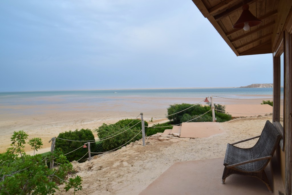 And that was my view from the bungalow:)