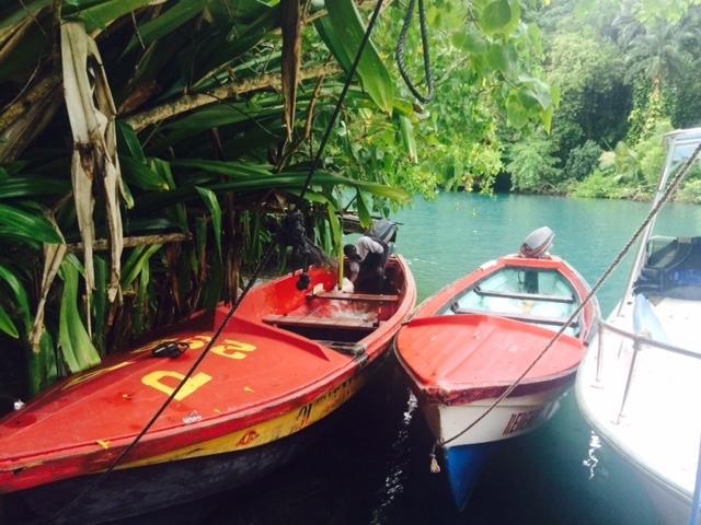 jamaica boat caribbean island paradise valleywater lagoon rainforest dancehall bob marley